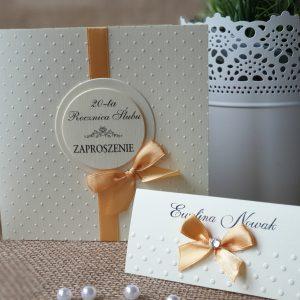 Zaproszenia z okazji jubileuszu ślubu